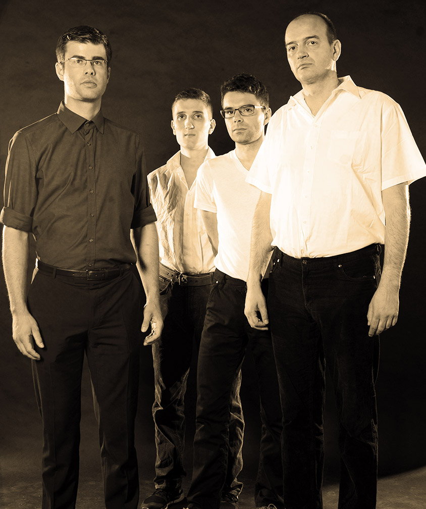 Semjon, Henrik, David, Michael, Tobias