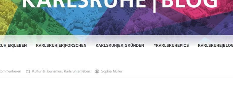 Unser Artikel bei der Blog Karlsruhe